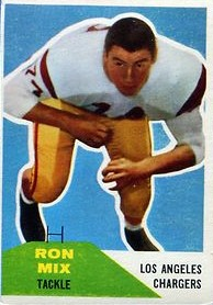 Ron Mix - Los Angeles Chargers