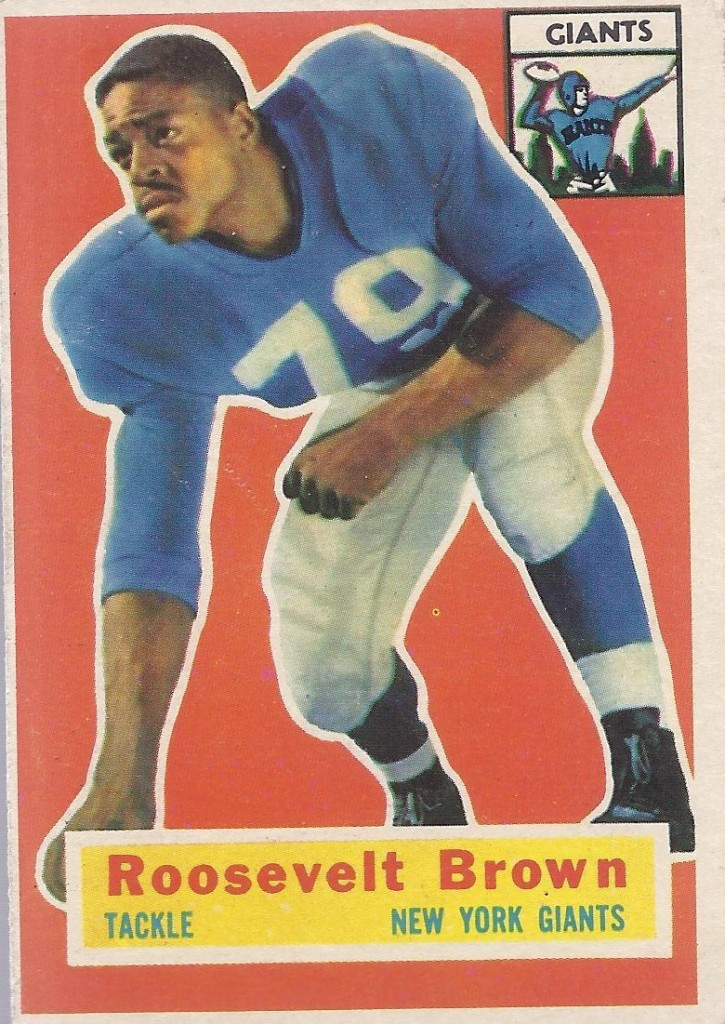 Roosevelt Brown - New York Giants