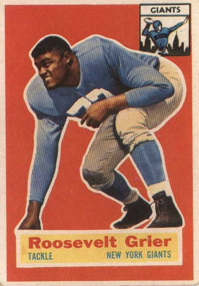 "Roosevelt ""Rosey"" Grier - New York Giants"
