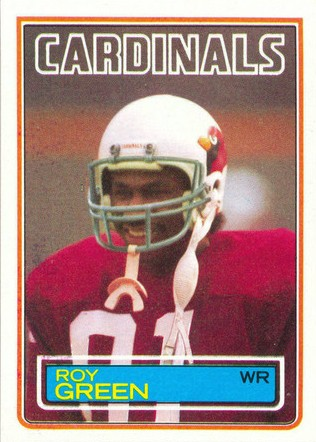 Roy Green - Chicago Cardinals - Arizona Cardinals - St. Louis Cardinals - Phoenix Cardinals