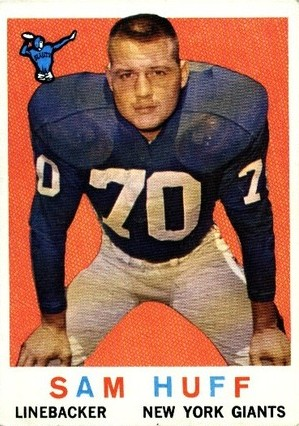 Sam Huff - New York Giants