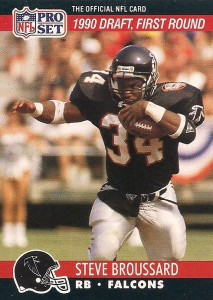 Steve Broussard - Atlanta Falcons - Seattle Seahawks