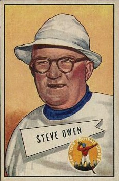 Steve Owen - New York Giants