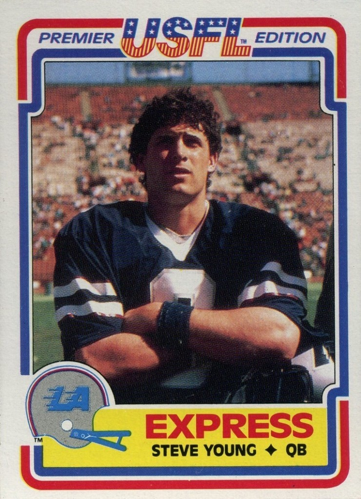 Steve Young - LA Express - San Francisco 49ers