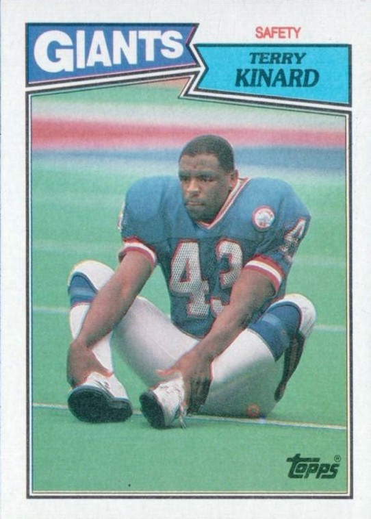 Terry Kinard - New York Giants