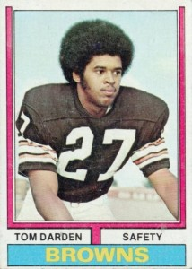 Tom Darden - Thom Darden - Cleveland Browns - Safety