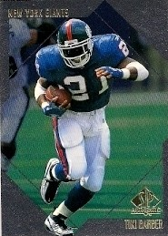 Tiki Barber - New York Giants
