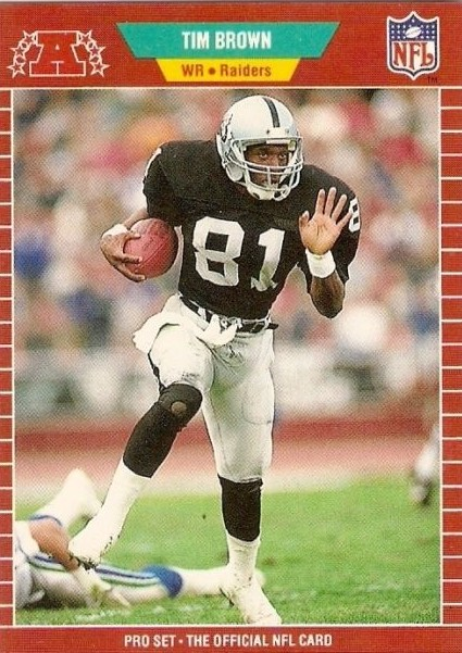 Tim Brown - Los Angeles Raiders - Oakland Raiders