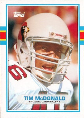 Tim McDonald - Chicago Cardinals - Arizona Cardinals - St. Louis Cardinals - Phoenix Cardinals