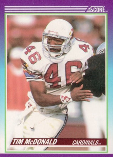 Tim McDonald - St. Louis Cardinals - San Francisco 49ers