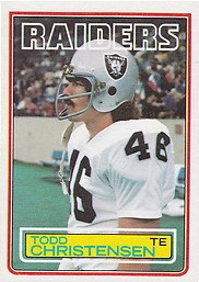 Todd Christensen - Oakland Raiders