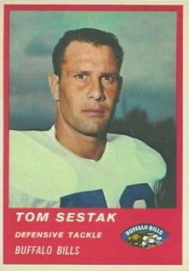 Tom Sestak - Buffalo Bills - Defensive End