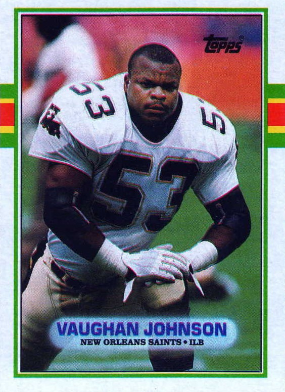 Vaughan Johnson - New Orleans Saints