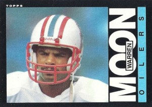 Warren Moon - Tennessee Titans - Houston Oilers