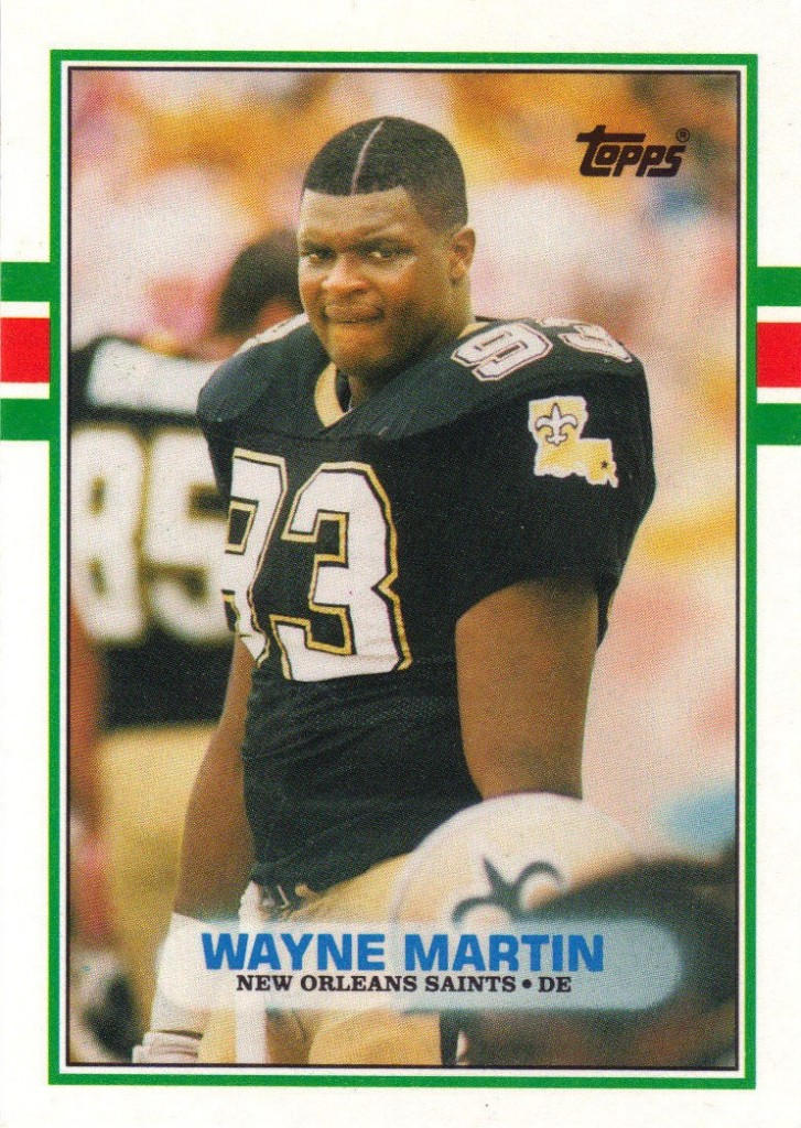 Wayne Martin - New Orleans Saints