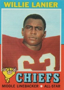 Willie Lanier - Kansas City Chiefs