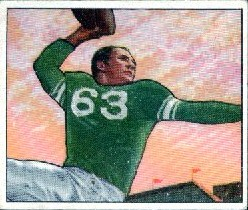 Y.A. Tittle - Baltimore Colts - New York Giants
